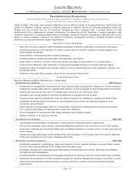 doc 7911024 resume examples sample trucking resume transportation s resume