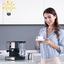 muti-function <b>Coffee</b> Machine Espresso and Milk Foam <b>15Bar</b> Pump ...