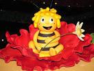 Пошагово пчелка майя из мастики