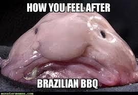 Brazilian BBQ - Monster Memes via Relatably.com