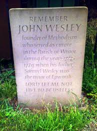 「John Wesley, methodist church 1784」の画像検索結果