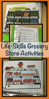 17 best images about slp life skills problem special education grocery store activities for functional life skills grocery store flyers stores prices