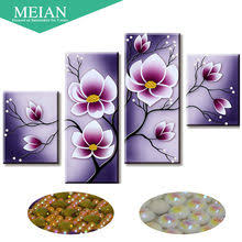 Online Shop Meian,Special Shaped,<b>Diamond Embroidery</b>,Flower ...