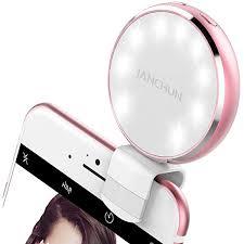 Neewer 36 <b>LED Clip</b>-on Rechargable <b>Selfie Ring Light for</b> Smart ...