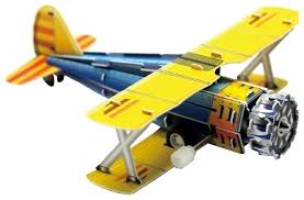 3d пазл pilotage самолет white rc39885