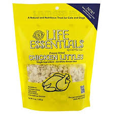 <b>Life Essentials Freeze</b> Dried Chicken Littles by Cat-Man-Doo 5 oz 2pk