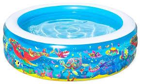 <b>Детский бассейн Bestway Подводный</b> мир 51121 купить по цене ...