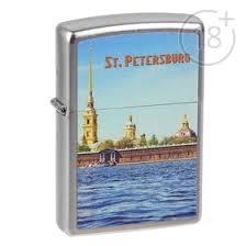 <b>Зажигалка ZIPPO 205 PETER PAUL</b> с покрытием Satin Chrome ...