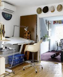 the arts and crafts style home of an artist and musician artist office