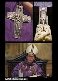 """Résultat de recherche d'images pour """"signes sataniques sur le pape"""""""