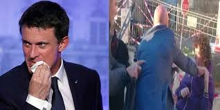 فرنسا - مراهق يصفع رئيس الحكومة السابق مانويل فالس