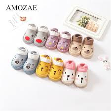 <b>Baby Socks With Rubber Soles</b> Animal Pattern Infant Foot Sock For ...