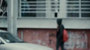 Стоковое видео «Slow Motion Hooded Teen Girl» (абсолютно без ...