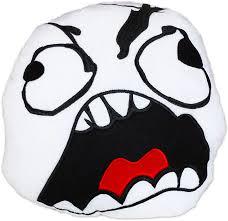 moodrush - Fu Face Rage Guy Pillow Meme Cushion Fuuu Smiley via Relatably.com