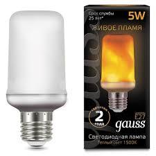 Характеристики модели <b>Лампа</b> светодиодная <b>gauss 157402105</b> ...
