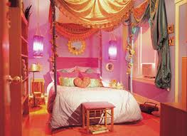 bedroom furniture fascinating colorful pink orange themed modern bedroom design for teenage girl with comfortable canopy bedroom furniture interior fascinating wall