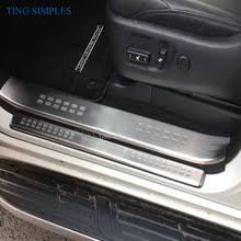<b>Защитные накладки на пороги</b> дверей Toyota Land Cruiser Prado ...