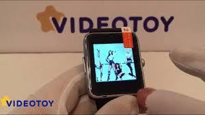 <b>Умные часы GT 08</b> - демонстрация работы. Обзор часов ...