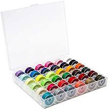BetyBedy 36Pcs Bobbins and Sewing Threads with ... - Amazon.com