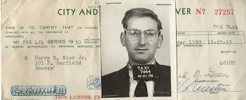 harry nier gone but not forgotten at least by those who knew him in order to help pay his way through law school harry nier drove a cab