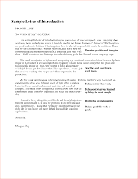 letter of introduction samples memo formats letter of introduction samples