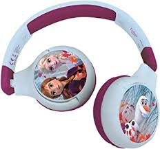 LEXIBOOK HPBT010FZ <b>Frozen</b> 2-in-1 Bluetooth <b>Headphones</b> ...