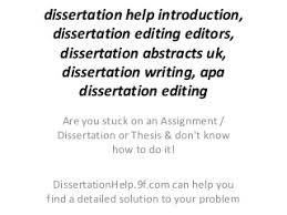 Dissertation Editing   LinkedIn LinkedIn