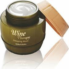 Купить <b>Ночная винная маска-желе</b> с белым вином Wine Therapy ...