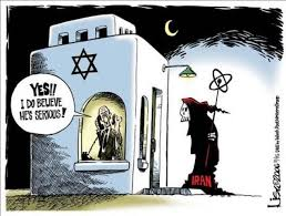 Image result for Nuclear ISRAEL CARTOON