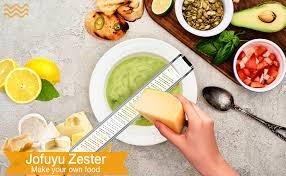 Lemon Zester & Cheese Grater - Premium Stainless ... - Amazon.com