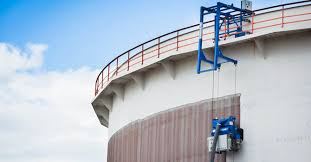 steel oil storage tank surface cleaning oil tank cleaning equipment