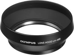 <b>Бленда Olympus LH-48B для</b> M.Zuiko 17mm 1:1,8 металлическая ...