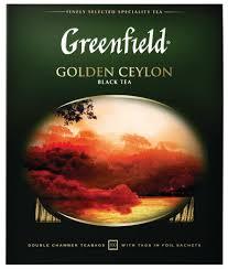 Купить <b>Чай черный</b> Greenfield Golden Ceylon в пакетиках, 100 шт ...