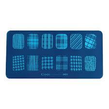 <b>Cooi 1 12 Stamping Nail Art</b> Design Lattice,Smile,Lace Dried ...