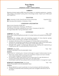 first resume template financial statement form first year mba resume template by z5tr6438