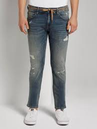 <b>Piers slim jeans</b> in a <b>destroyed</b> look - from TOM TAILOR <b>Denim</b>