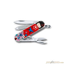 <b>Нож перочинный Victorinox Classic</b> Limited Kokeshi (0.6223.L1608 ...