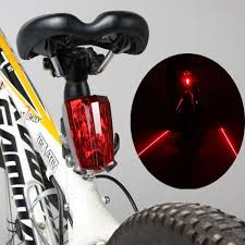 Amazon.com : LW Bicycle Bike Cycling Rear Tail <b>Laser LED</b> Lights ...