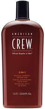 <b>American Crew</b> Men Classic <b>3 In 1</b> Shampoo Conditioner Body ...