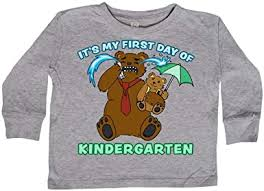 inktastic Its My 1st Day of Kindergarten with <b>Cute Bear</b> Family Baby ...