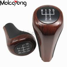 5 speed gear shift knob with collars lever dust anti dust cover for peugeot 207 307 cc 308