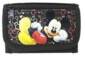 Disney Mickey Mouse Authentic Licensed Trifold ... - Amazon.com