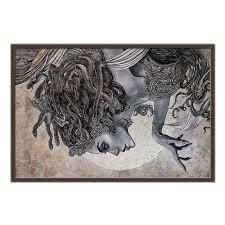 "Холст 60x90 ""Medusa Gorgona"" #2417041 от balden - <b>Printio</b>"