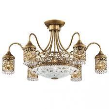 Потолочная <b>люстра Odeon Light</b> Salona <b>2641</b>/<b>9C</b> – купить в ...