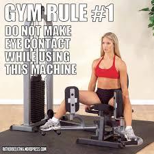 Gym Rule 1