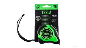<b>Рулетка Tesla T-5 5м/25мм</b>, нейлоновое покрытие, ма купить в ...