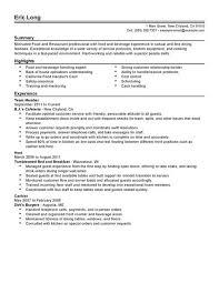 resume format restaurant server  seangarrette coprofessional resumes professional sample resume for restaurant food server job position   resume format restaurant server