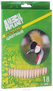 Купить <b>Action</b>! <b>Набор цветных карандашей</b> Animal Planet Птицы ...