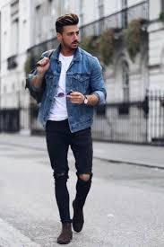 <b>Jean Jacket</b> Outfits For <b>Men in</b> 2020 | <b>Denim jacket fashion</b>, How to ...