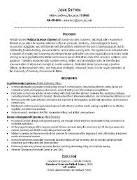Resume Examples  Resume Example With Objective Summary And Education In Phd Of Technology Or Experience
